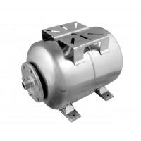 Гидроаккумулятор 100 литров, горизонтальный, Нержавеющая сталь