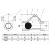 """Обратный клапан шаровый резьбовой NRB-T, Rp 1 1/4"""", PN 16, NRB"""