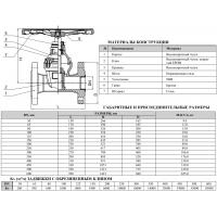 Задвижка клиновая фланцевая ДУ 100 PN16